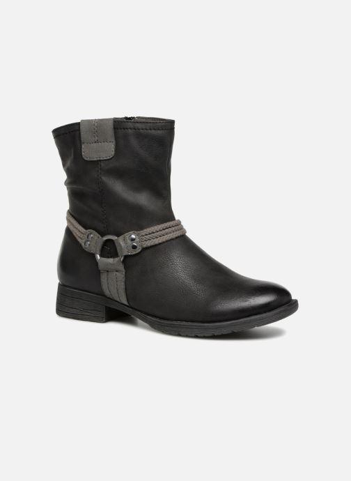 Boots en enkellaarsjes Jana shoes SAVIE Zwart detail