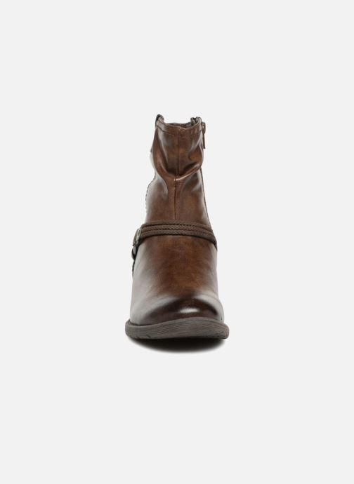 Bottines et boots Jana shoes SAVIE Marron vue portées chaussures