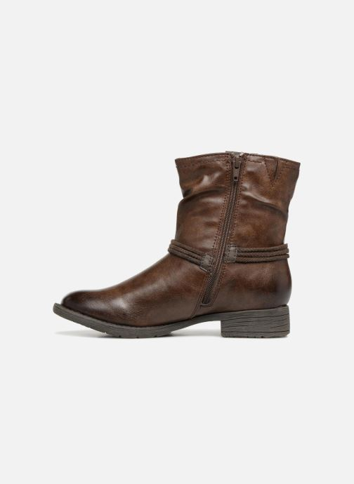 Bottines et boots Jana shoes SAVIE Marron vue face