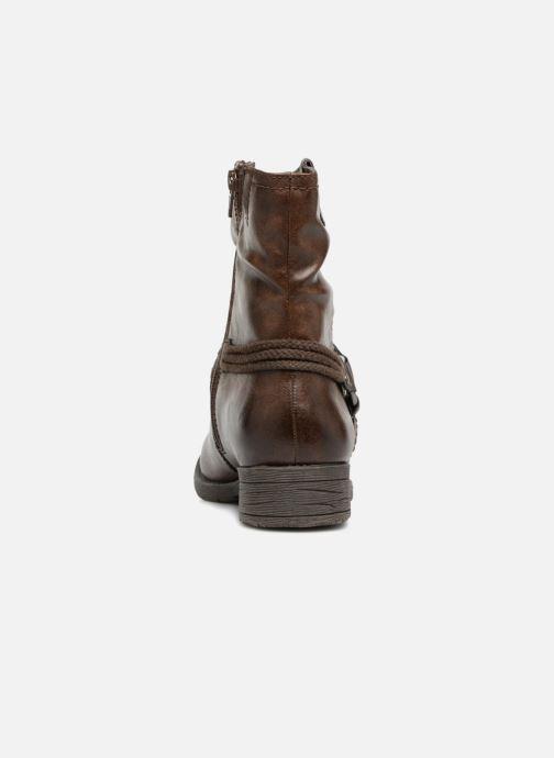 Bottines et boots Jana shoes SAVIE Marron vue droite