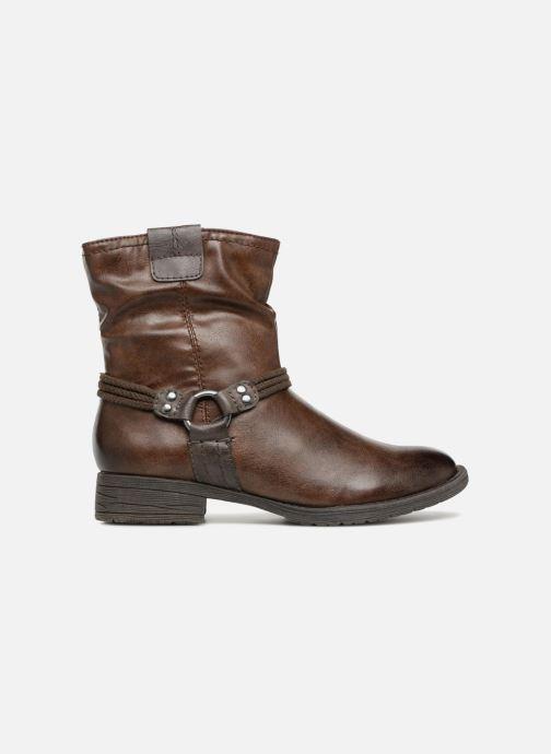 Boots en enkellaarsjes Jana shoes SAVIE Bruin achterkant