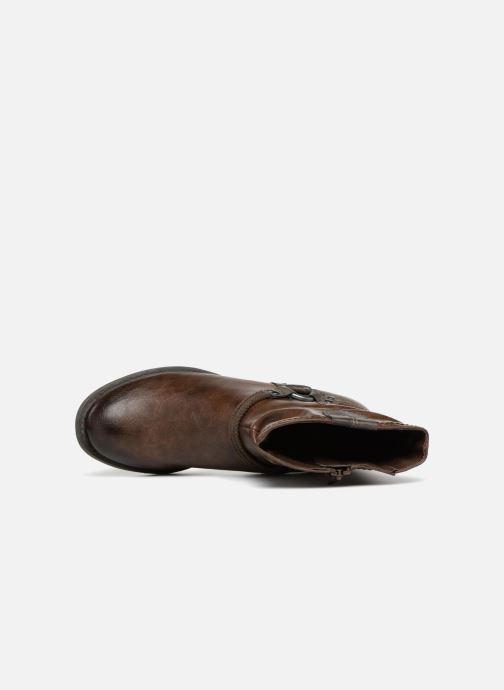 Bottines et boots Jana shoes SAVIE Marron vue gauche