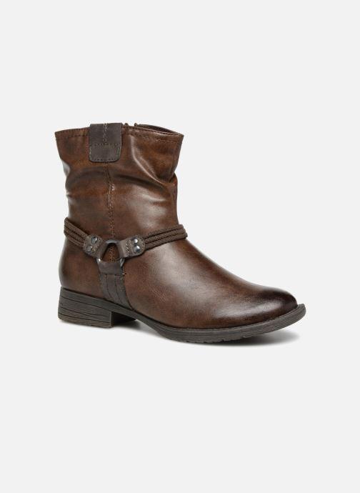 Boots en enkellaarsjes Jana shoes SAVIE Bruin detail