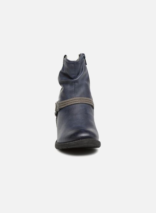 Bottines et boots Jana shoes SAVIE Bleu vue portées chaussures
