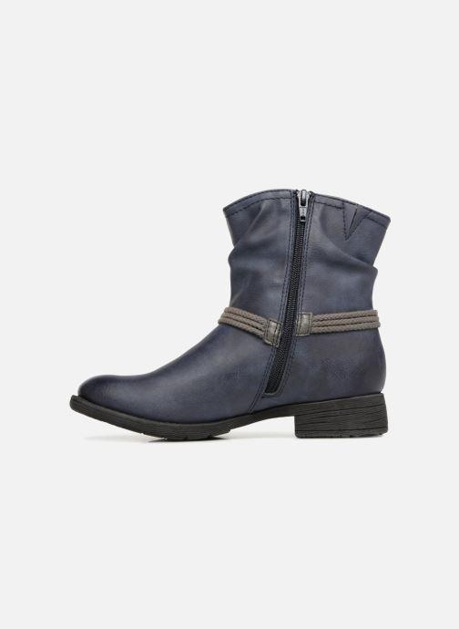 Stivaletti e tronchetti Jana shoes SAVIE Azzurro immagine frontale