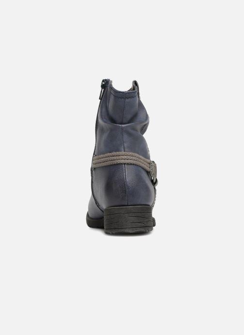 Stivaletti e tronchetti Jana shoes SAVIE Azzurro immagine destra