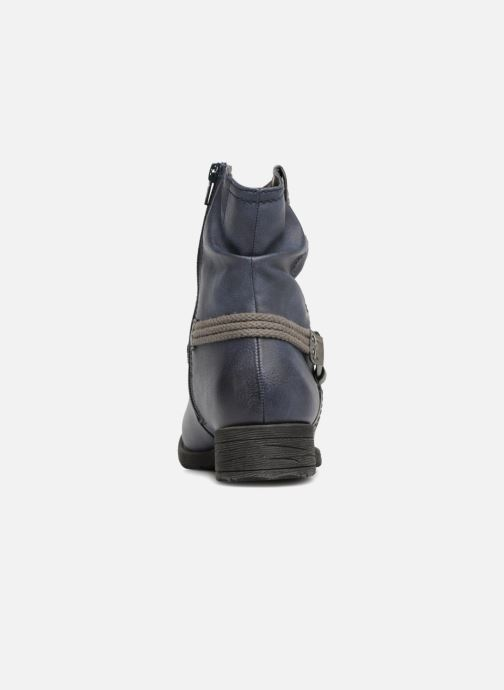 Ankle boots Jana shoes SAVIE Blue view from the right