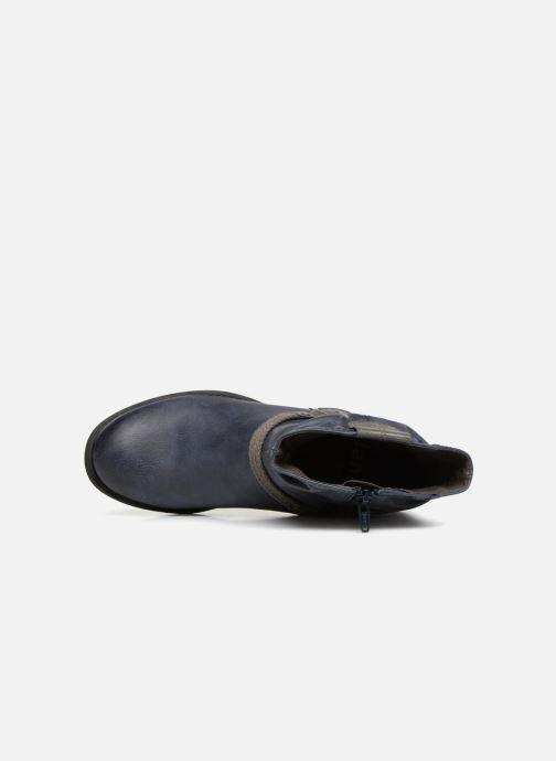Stivaletti e tronchetti Jana shoes SAVIE Azzurro immagine sinistra