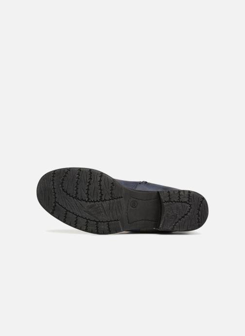 Bottines et boots Jana shoes SAVIE Bleu vue haut