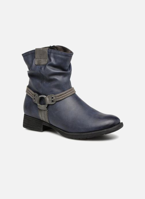 Ankle boots Jana shoes SAVIE Blue detailed view/ Pair view