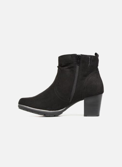 Boots en enkellaarsjes Jana shoes FUTURO Zwart voorkant