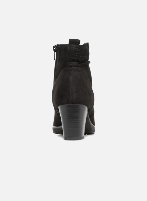 Boots en enkellaarsjes Jana shoes FUTURO Zwart rechts