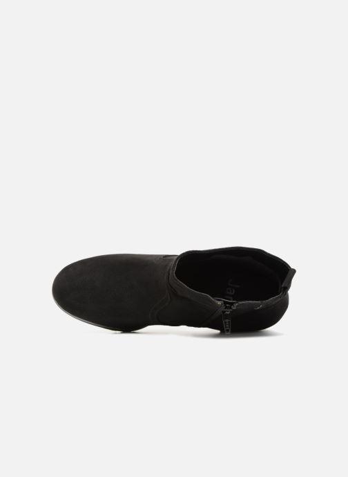 Boots en enkellaarsjes Jana shoes FUTURO Zwart links