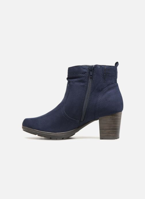 Boots en enkellaarsjes Jana shoes FUTURO Blauw voorkant