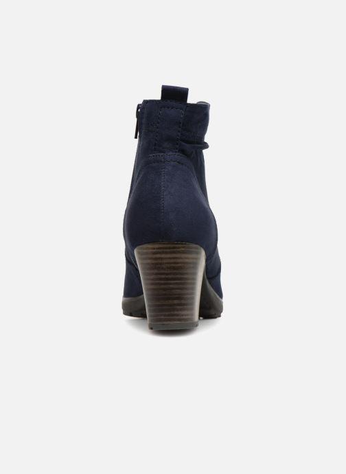 Boots en enkellaarsjes Jana shoes FUTURO Blauw rechts