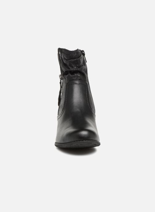 Bottines et boots Jana shoes BASTOS Noir vue portées chaussures