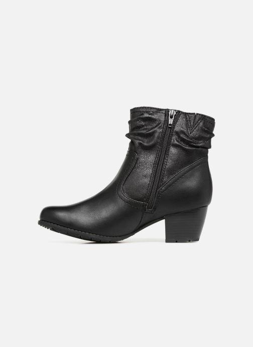 Bottines et boots Jana shoes BASTOS Noir vue face
