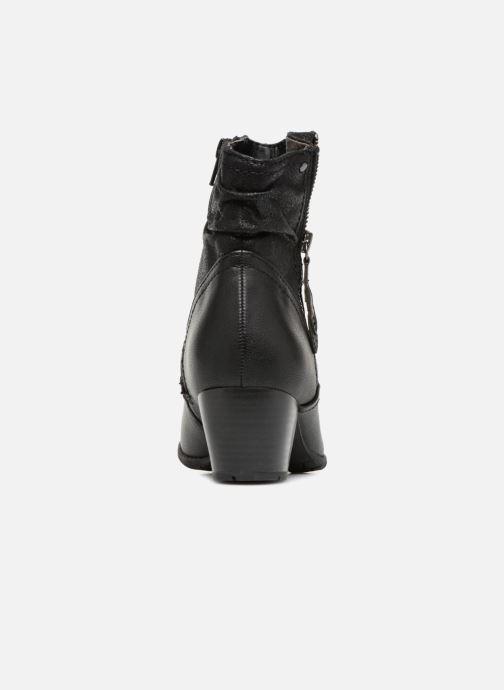 Bottines et boots Jana shoes BASTOS Noir vue droite