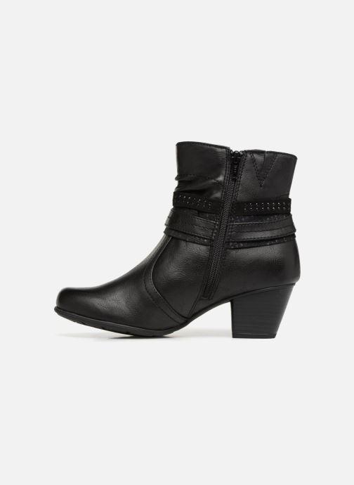Bottines et boots Jana shoes MURRAY Noir vue face