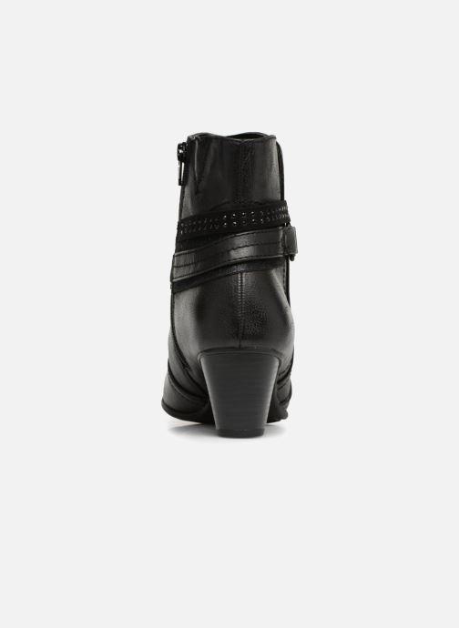 Bottines et boots Jana shoes MURRAY Noir vue droite