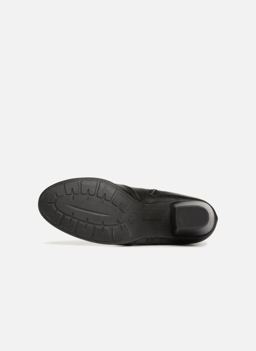 Bottines et boots Jana shoes MURRAY Noir vue haut