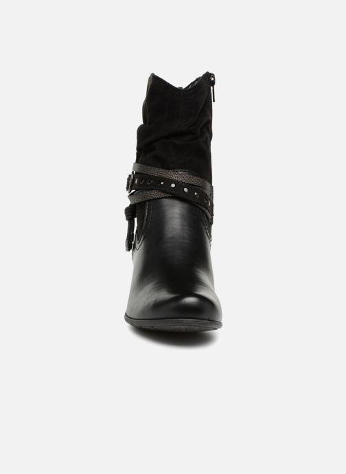 Bottines et boots Jana shoes FELICIA Noir vue portées chaussures