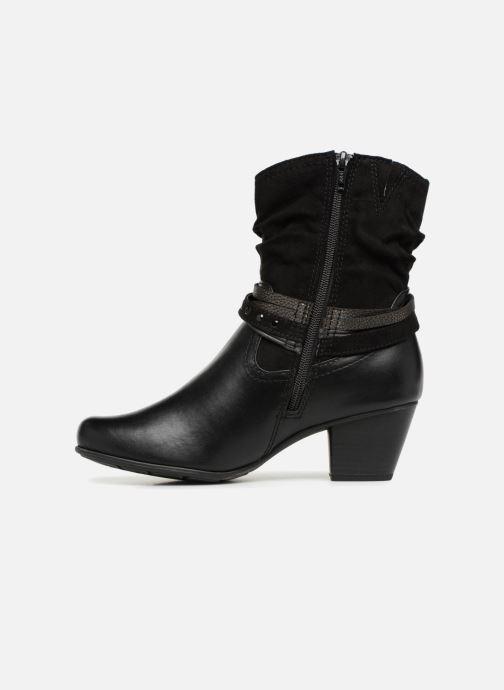 Boots en enkellaarsjes Jana shoes FELICIA Zwart voorkant
