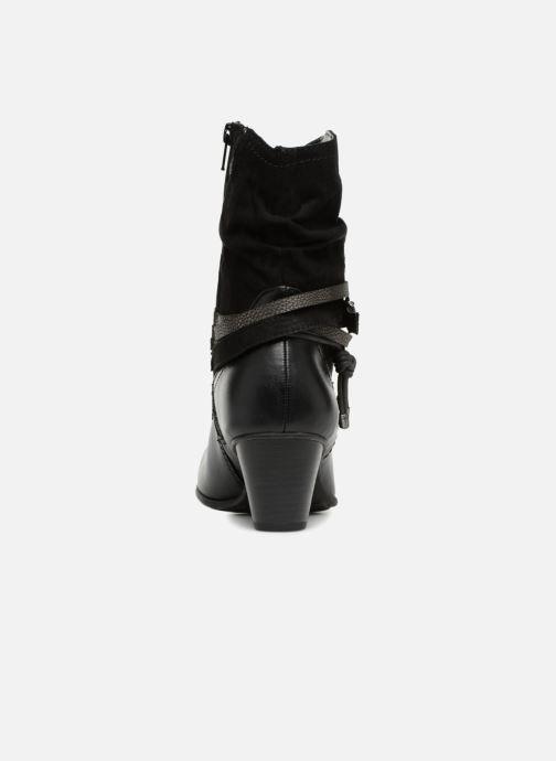 Boots en enkellaarsjes Jana shoes FELICIA Zwart rechts