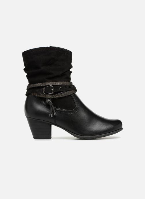 Boots en enkellaarsjes Jana shoes FELICIA Zwart achterkant