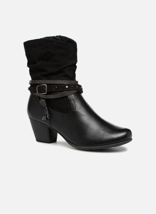 Bottines et boots Jana shoes FELICIA Noir vue détail/paire