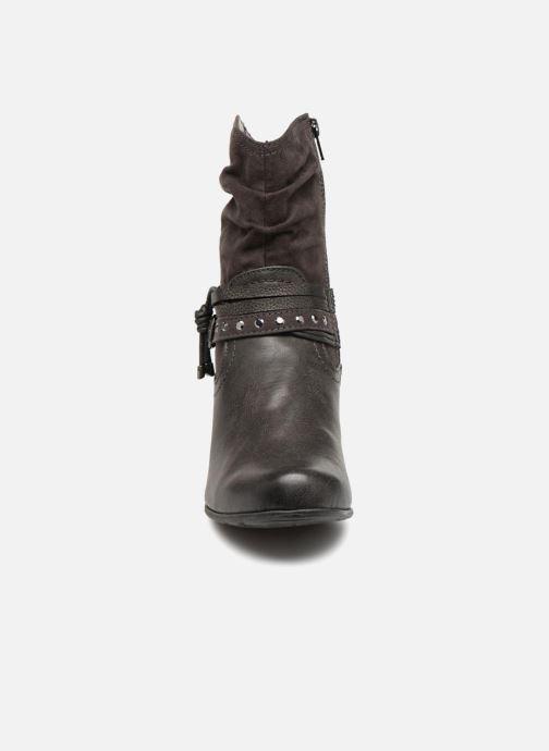 Stivaletti e tronchetti Jana shoes FELICIA Grigio modello indossato