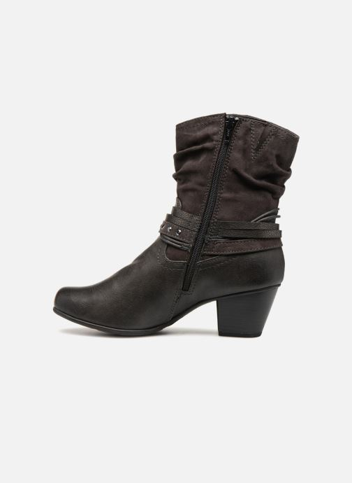 Ankle boots Jana shoes FELICIA Grey front view