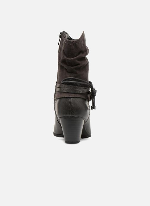 Ankle boots Jana shoes FELICIA Grey view from the right