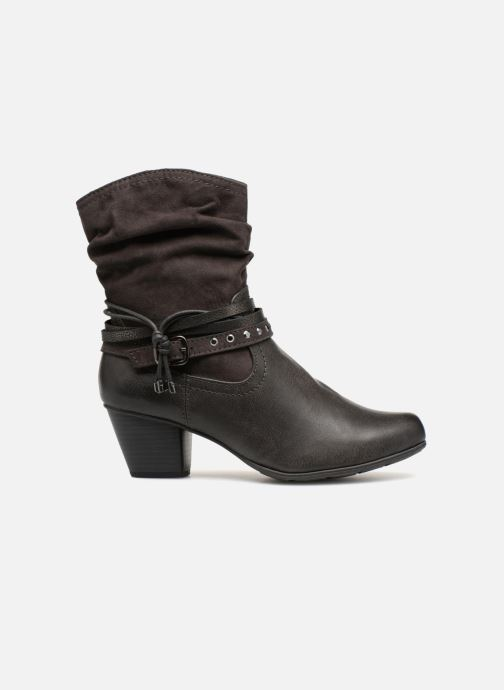Ankle boots Jana shoes FELICIA Grey back view