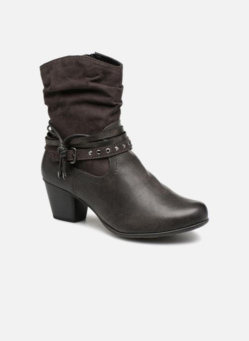 Bottines et boots Jana shoes FELICIA Gris vue détail/paire