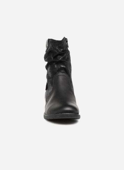 Stivaletti e tronchetti Jana shoes AGLAE Nero modello indossato
