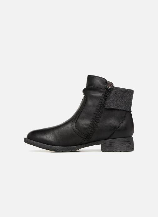 Bottines et boots Jana shoes LORETTA Noir vue face