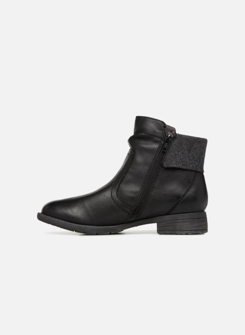 Boots en enkellaarsjes Jana shoes LORETTA Zwart voorkant