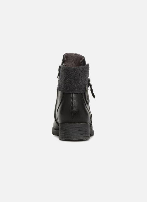 Bottines et boots Jana shoes LORETTA Noir vue droite