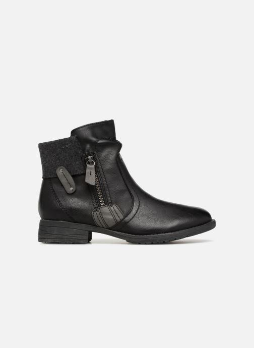 Boots en enkellaarsjes Jana shoes LORETTA Zwart achterkant