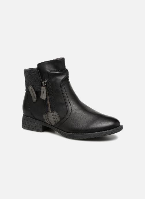 Boots en enkellaarsjes Jana shoes LORETTA Zwart detail