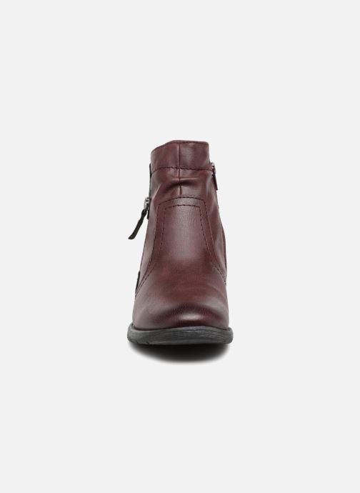Bottines et boots Jana shoes LORETTA Bordeaux vue portées chaussures