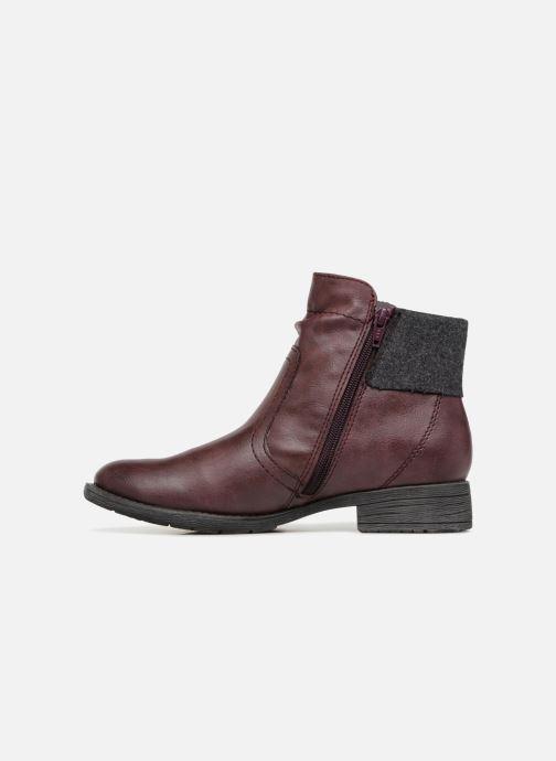 Boots en enkellaarsjes Jana shoes LORETTA Bordeaux voorkant