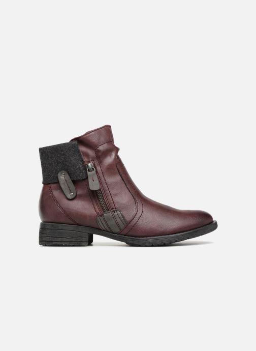 Bottines et boots Jana shoes LORETTA Bordeaux vue derrière