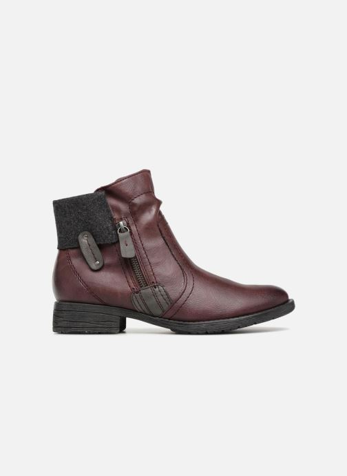 Boots en enkellaarsjes Jana shoes LORETTA Bordeaux achterkant