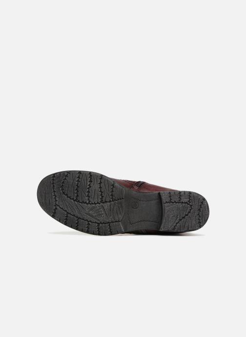 Bottines et boots Jana shoes LORETTA Bordeaux vue haut