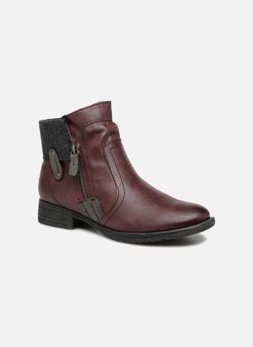 Bottines et boots Jana shoes LORETTA Bordeaux vue détail/paire