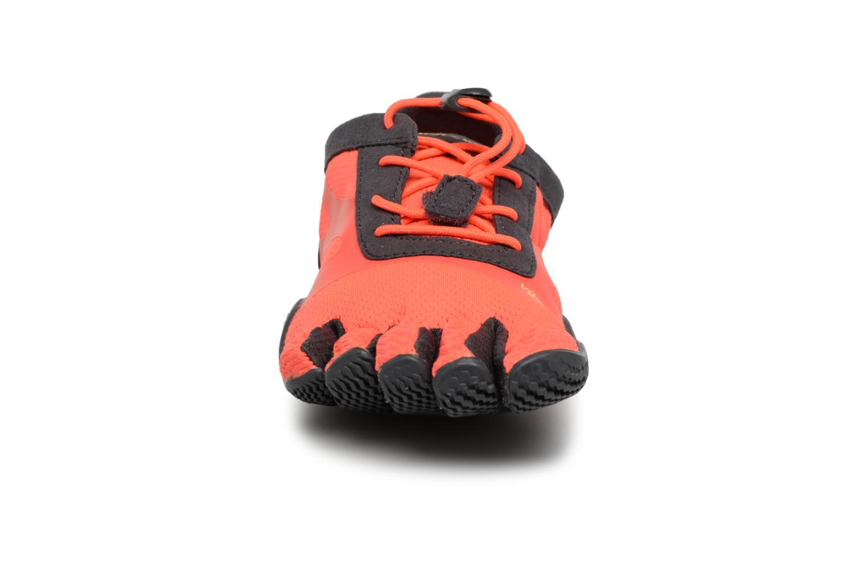 Sportschuhe Vibram FiveFingers KSO-EVO I orange schuhe getragen