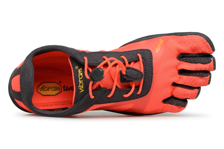 Sportschuhe Vibram FiveFingers KSO-EVO I orange ansicht von links