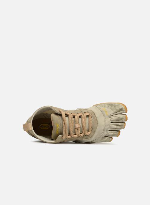 Chaussures de sport Vibram FiveFingers V-Trek W Vert vue gauche